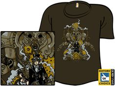 Steamworks Operatica by DRAKXXX on Shirt.woot