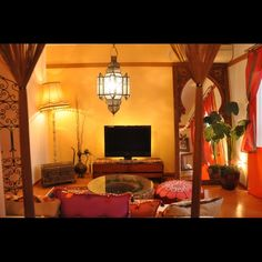 207 賃貸  モロッコ/ミックス/アラビアン/アパート時代/アジアン/部屋全体…などのインテリア実例 - 2013-10-14 22:31:43 | RoomClip(ルームクリップ)
