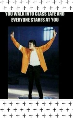 I wonder if when mj was little and when he got into class early he got the same treatment