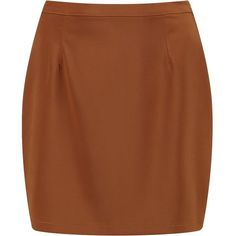 Boohoo Liah Woven Matte Satin A Line Mini Skirt | Boohoo ($12) ❤ liked on Polyvore featuring skirts, mini skirts, short skirts, brown maxi skirt, brown pleated mini skirt, brown mini skirt and pleated mini skirt