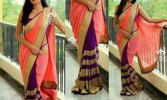 Mirror Work Blouse, Desi, Saree, Indian, Blouses, Fashion, Moda, Fashion Styles, Sari