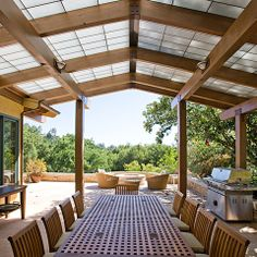 Covered Roof Design Ideas, Pictures, Remodel and Decor