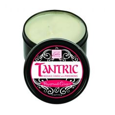 Tantric soy candle w/pheromones - pomegranate ginger - Tantric...The art of sensuality! Heat up your intimate pleasures and reach new heights of intimacy with these o...