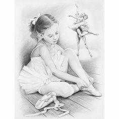 Coloring for adults en kleuren voor volwassenen Ballerina Drawing, Ballet Drawings, Dancing Drawings, Cool Drawings, Drawing Sketches, Colouring Pages, Adult Coloring Pages, Coloring Books, Teen Star