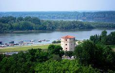 where Sava meets Danube - Belgrade, Serbia