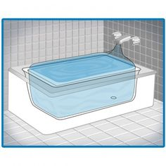 The AquaPodKit is a simple, safe water storage product that allows you to store up to 65 gallons using your bathtub. Aqua Pod Kit is an affordable and simple way to store temporary water when an emergency is looming. It fits almost any tub and holds up to Emergency Preparedness Kit, Emergency Water, In Case Of Emergency, Hurricane Preparedness, Survival Supplies, Emergency Supplies, Survival Gear, Survival Skills, Survival Stuff