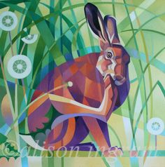 Hare and Dandelions