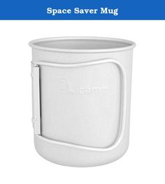 Space Saver Mug. Super durable and a great water bottle accessory, Olicamp's Space Saver Mug will put a grin on any beverage enthusiast's face. PRODUCT FEATURES: Weight: 3.8 oz (110 grams) Size: 4 x 4.25 in Fits snuggly over the bottom of a 1 quart, round Nalgene bottle and the Klean Kanteen 40 oz bottle saving valuable space in your pack Innovative handle design feels more like your favorite mug at home while still folding compactly Large enough to boil water for freeze dried meals...