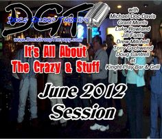 Doc's Group Therapy Comedy Podcast Show (June 2012) Knights Play in Jacksonville, Arkansas