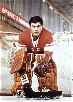 Find the perfect konovalenko stock photo. Hockey Goalie, Hockey Teams, Ice Hockey, Nhl, Canada Cup, Communist Propaganda, Russian Red, Olympic Champion, Red Army
