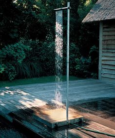 this could even be an interesting water feature in the garden if you had a catch basin and a pump.