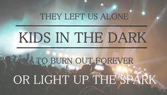 Bands = Life 5sos Lyrics, Music Lyrics, Band Quotes, Lyric Quotes, Miss You All, Give It To Me, All Time Low Lyrics, Dark Lyrics, Stuck In My Head