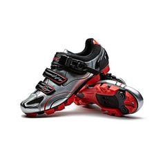Santic Knight Ⅱ Silver Black Men MTB Cycling Shoes – Santicireland.ie