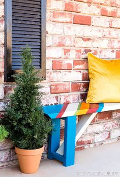 Give your patio furniture an update! This indoor/outdoor paint will hold up to wear and tear to keep your furniture looking fresh.