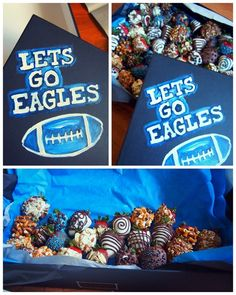 easy tailgating idea! chocolate covered strawberries