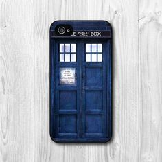 Tardis Doctor Who iPhone 4 case iphone 4s case Tardis by CasePapa, $6.99