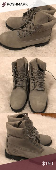 TIMBERLAND WINTER BOOTS (Men's Size 7M) BrownGray Brand