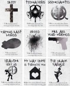 Ideas For Quotes Lyrics My Chemical Romance Black Parade Ideas For Quotes Lyrics My Chemical Romance Black Parade The Effective Pictures We Offer You About wedding Musical Band A quali Emo Bands, Music Bands, Mcr Band, Band Quotes, Mcr Quotes, Band Memes, Mcr Memes, Music Quotes, Romance Quotes