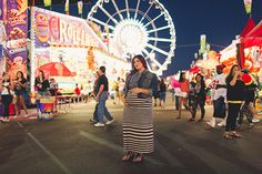 Our Maternity Photo Shoot at the AZ State Fair | Chicks Who Give A Hoot | Photos by Mike Olbinski and Styling by @Alexandra Evjen