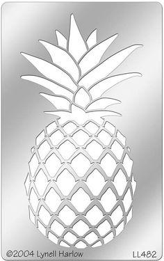 pineapple stencils stippling stencil bing