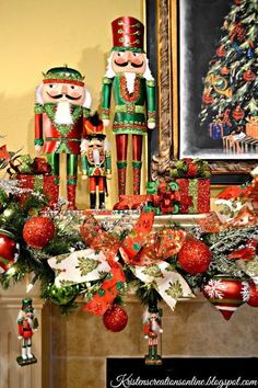 I hope you all had a wonderful Christmas and are having a great start to the new year! I& late sharing my Christmas decor but better l. Nutcracker Christmas Decorations, Christmas Tree Themes, Outdoor Christmas Decorations, Christmas Love, Christmas Villages, Silver Christmas, Victorian Christmas, Vintage Christmas, Christmas Fireplace