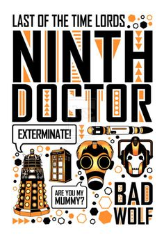 Ninth Doctor Poster by Jacqui-Kate