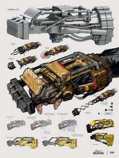 The Art of Fallout 4 - /// Vault 13 — ЖЖ Fallout Weapons, Fallout Art, Sci Fi Weapons, Fantasy Weapons, Weapons Guns, Fallout Concept Art, Armor Concept, Weapon Concept Art, Cyberpunk
