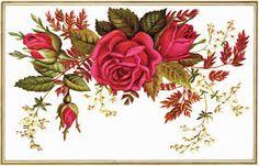 Resultado de imagen para Victorian labels with roses
