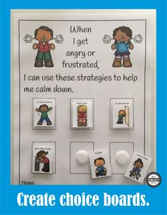 Calming Strategies Classroom Classroom Charts, Classroom Behavior, Special Education Classroom, Future Classroom, Calm Classroom, Classroom Ideas, Zones Of Regulation, Emotional Regulation, Behaviour Management
