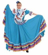 Jalisco dress with ribbons