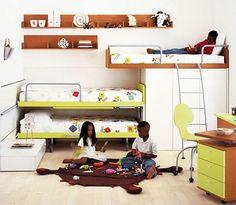 habitaciones infantiles y juveniles -ideas habs.compartidas...,etc-