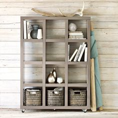 Rolling storage from West Elm