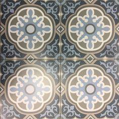Artisan Deco Otto 200 x 200 | Tile Depot Cement Design, Tile Design, Gravel Stones, Outdoor Tiles, Pattern Mixing, Tile Patterns, Color Mixing, Black Silver, Artisan
