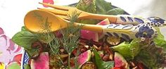 Meatless Monday: Filling Michael Pollan's Prescription & Vegan Recipe Plant Prescription Salad with Mustard and Dill