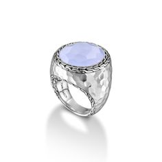 New arrival: Palu Ring with Blue Chalcedony. #JohnHardy