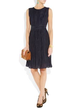 So betty draper. great transition piece for day-to-night!! love that it's a sheath with a flirtier skirt. it's begging for fab accessories.