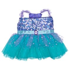 We already bought Gia this Mermaid Treasure Palace Pet... if anyone wants to buy an outfit to go with it. Purple Fancy Dress - Build-A-Bear Workshop US