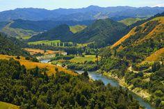 Whanganui River on New Zealand's north island