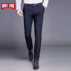 b553c202d3b Classic Casual trousers Business Casual Trousers