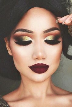 143 Best Christmas makeup images