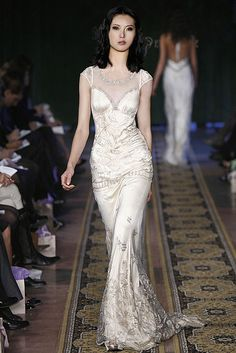 Claire Pettibone - NY Bridal Market 2008 - Rock n Roll Bridal Collection