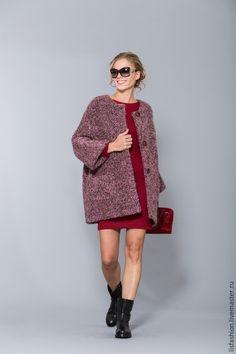 eb8a5624c1a8 Верхняя одежда ручной работы. Ярмарка Мастеров - ручная работа. Купить  Пальто 1525E-розовый. Handmade. Розовый, пальто демисезонное