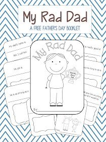 School Is a Happy Place: My Rad Dad: A FREE Father's Day Booklet