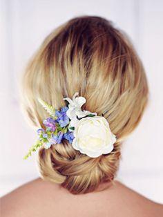 Bridal hair comb pink flower hair clip wedding headpiece bridal tilly rose hair clip mightylinksfo