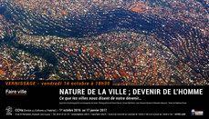 """Exposition """"Nature de la ville : devenir de l'homme"""" au CCHa [Centre des Cultures et de l'Habiter] à Toulouse."""