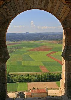 Es mi tierra — Gormaz Castle, Soria, Castile and León, Spain....