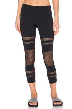 0177bca8a4 Shop for SOLOW Shadow Stripe Legging in Black at REVOLVE.