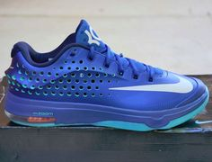 promo code c10f5 d1533 Nike KD Kevin Durant VII 7 Elite 724349-404 Elevate Gym Blue DS Size 11  SNEAKERS   eBay. Retro Basketball ShoesKevin ...