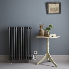Vogue Romantique x Electric Radiator Electric Radiators, Period Living, Industrial House, Living Rooms, New Homes, Vogue, Cottage, House Design, Flat