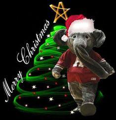 Big Al Says Merry Christmas and Roll Tide Roll! Crimson Tide Football, Alabama Football, Alabama Crimson Tide, Alabama College, Christmas Carol, White Christmas, Christmas Pics, Christmas Quotes, Country Christmas